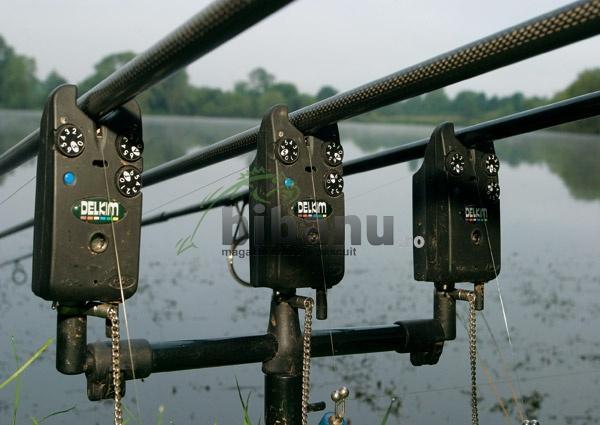сигнализатор поклевки электронный установка